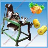 Casca quente do abacaxi da venda e máquina de retirada do núcleo