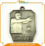高品質の金属によってめっきされる銀メダル