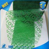 Obbligazione inalterabile che impacca nastro vuoto per protezione dell'imballaggio
