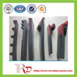 Transporte que contorna a borracha/placa de borracha da saia/a placa dupla da saia selo do transporte/a placa saia da rampa