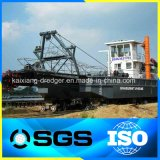 China-Fluss-Sand-ausbaggernder Scherblock-Absaugung-Bagger