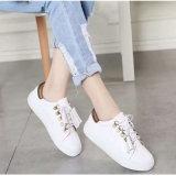 Ботинки способа кожаный, тапки женщин вскользь, атлетическая обувь с No типа: Вскользь ботинки