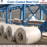 0.14mm-1.2mm 건축재료 색깔은 Prepainted 직류 전기를 통한 강철 코일을 입혔다