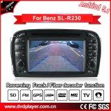 인조 인간 전화 연결을%s 가진 벤즈 SL-R230를 위한 휴대용 차 DVD GPS 항법 5.1/1.6 GHz