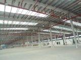 Vorfabrizierte helle Stahlkonstruktion-zusammengebaute Werkstatt