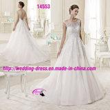 Роскошное венчание платья мантий сновидения сказки с круглым Neckline