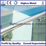 Support de support de tube en acier inoxydable pour barrière d'escalier