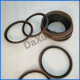 Carbono para a selagem do anel-O da junção giratória do fornecedor da parte superior da máquina escavadora