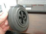 Roda contínua de 5 polegadas com borda plástica