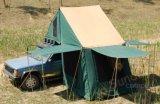Tenda standard della parte superiore del tetto dell'automobile della tenda di tela di canapa del Palo dell'acciaio inossidabile