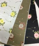 Tessuto dell'indumento del raso stampato disegno del fiore, tessuto di tessile domestico
