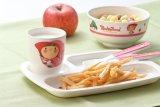 Dinnerware- van de Melamine van 100% de de 4-verdeelde Plaat van het Jonge geitje/Schotel van de Baby (NBG802)