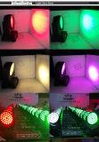 DMX 36X10W RGBW 4in1 LED 세척 급상승 이동하는 맨 위 빛