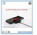 Inducción magnética de alta efectividad para el iPhone carga inalámbrica receptor caso