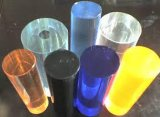 Rod plástico de acrílico colorido modificado para requisitos particulares