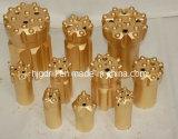 Brocas de botones de rosca (R25, R28, R32, R38, T38, T45, T51, T60, ST58, GT60)