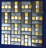 Mosaico del metal del acero inoxidable del azulejo de la pared (SM228)