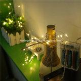 タイマーの低電圧の暖かく白い藤ライトが付いている屋内ストリングLEDライト