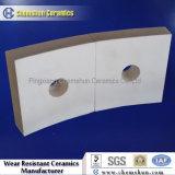 Fodera delle mattonelle del tubo dell'allumina saldabile/allumina di ceramica Resistnat di usura di mattonelle di ceramica