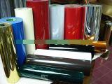 Película metalizada impresa del PVC para el material de embalaje