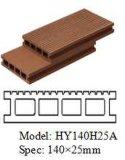 Decking chaud de la vente WPC pour le plancher extérieur