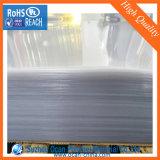 Strato del PVC 3*6, strato rigido trasparente con la pellicola protettiva del PE, strato rigido del PVC del PVC della radura per il comitato
