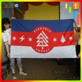 Bandeira do anúncio ao ar livre da tela da estamenha do vôo
