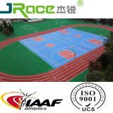 Iaaf одобрило Eco-Friendly резиновый идущий след для настила суда спортов