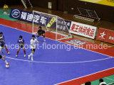 Plancher de cour de Futsal de résistance d'abrasion pour le professionnel et l'amateur, sports parquetant, plancher de verrouillage