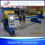 De op zwaar werk berekende CNC van het Type van Brug Scherpe Machine van de Vlam van het Plasma