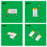 102555 grandes capacités de qualité batterie Li-ion 1500mAh de 3.7 volts