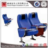 卸売(NS-WH288-1)のための調節可能なアームを搭載する劇場のホールの青い椅子