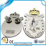 Insigne magnétique en métal de logo de Nice Price Custom Company