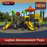 Campo da giuoco di plastica esterno dei bambini di alta qualità del Ce (X1511-3)