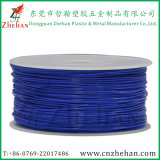 Incandescenza di plastica di colore del filamento PLA/ABS della stampante 3D nello scuro
