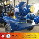 Pompe à eau auto-amorçante à moteur à remorque lourde à remorque