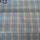 Baumwollpopelin-gesponnenes Garn gefärbtes Gewebe 100% für Hemden/Kleid Rls40-35po