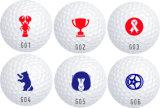 Sellos plásticos de la pelota de golf
