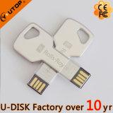 최신 주문 로고 키 모양 USB 기억 장치 지팡이 (YT-3213-04)