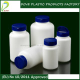 500ml PE Pharmaceutical Plastic Bottle con Child Resistant Cap