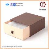 Caixa de empacotamento personalizada do presente do papel quadrado