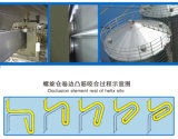 Grain Corn Maize Wheat Soybeanのための螺旋形Silo Manufacturer