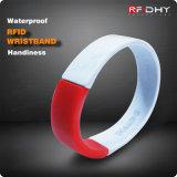 Wasserdichte Handgelenk-Brücken des Silikon-Bracelet/RFID/Nähe-Marken-GummiWristbands