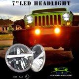 "7 "" Jeep Wrangler Jk Fj Harleyのための置換Headlights"