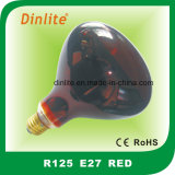 Ampoule rouge de R125-E27 250W Refelctor