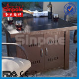 AluminiumGas Fire Pit Table mit Ce/UL Approved (KLD4002)