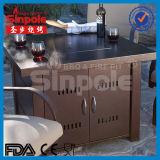 Aluminio Gas Pit Pit mesa con Ce / UL aprobado (KLD4002)