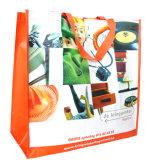 Il sacchetto di Tote di plastica riutilizzabile per acquisto, con progetta (14090502)
