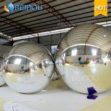 Decorativa 20 pulgadas de bolas de espejos de oro al por mayor de la fábrica Mini Disco inflable bola de espejo