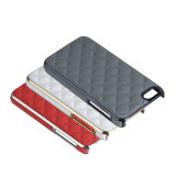 ¡Caliente! La mayoría del teléfono móvil PC+PU del estilo de lujo ligero popular mueve hacia atrás el caso para el iPhone 6/6s/Se Multicorlour